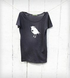 Women's Bird with Heart Tee by Naturwrk on Scoutmob