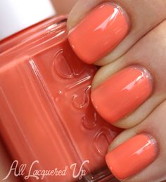 Essie - Resort Fling - 2014 Nail Polish Swatches and Review