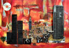 Metropolys Painting by Lorenzo Basile and G M Zago
