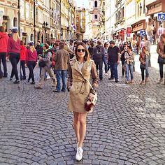 Saudades de Praga - Foi tão gostoso andar por essas ruas sem destino apenas existindo... ✨ #Prague #Praga #LilaEncantada #LilaTcheca #FamilyTrip