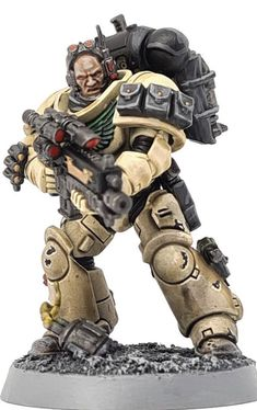 Warhammer Paint, Warhammer Models, Warhammer 40000, Miniaturas Warhammer 40k, 40k Armies, Deathwatch, Futuristic Armour, Imperial Fist, Sci Fi Armor