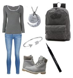 """Untitled #33"" by katrinawells on Polyvore featuring Frame Denim, Timberland, Vans, Givenchy and Bling Jewelry"