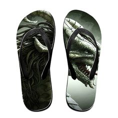 TOPNN Dragon Slipper Flip-Flops -- Read more  at the image link.