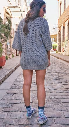 Ravelry: Roxy Cardigan pattern by Tanya Eberhardt Crochet Jacket, Crochet Cardigan, Crochet Vests, Cardigan Pattern, Custom Clothes, Roxy, Ravelry, Cardigans, Sweaters