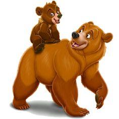 17 best disney brother bear images on pinterest brother bear rh pinterest com Princess Bear Clip Art Tall Bear Clip Art