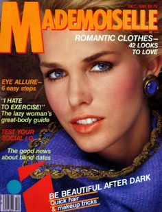 December 1981 cover with Anette Stai