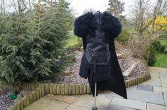 Jon Snow Game of Thrones 100 Real Leather  Sheep by Kazaz4u11, £199.99
