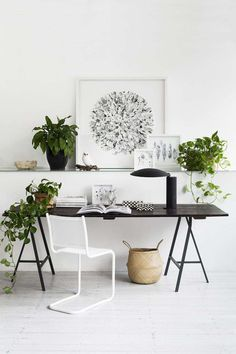 30+ Relaxing Desk Setup With Plants. Yup, some people put the ornamental plant as desk setup. Some of the reasons are because office desks need decoration or decoration to reduce fatigue ...  #desk #flower #plant #setup