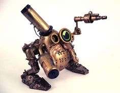 Steampunk Mr. Potato Head  http://pinterest.com/errratic/
