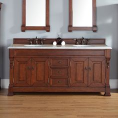 "Found it at Wayfair - Brookfield 72"" Double Country Oak Bathroom Vanity Set with Drawers"