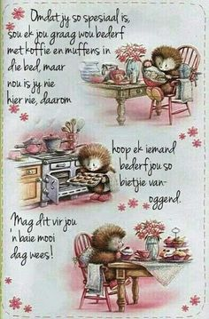 Good Morning Greetings, Good Morning Good Night, Good Morning Wishes, Good Morning Quotes, Mama Quotes, Cute Quotes, Morning Prayers, Morning Messages, Lekker Dag