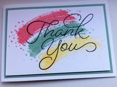 Stampin' Theetje: Stampin'Up! Thank You! So very Much!