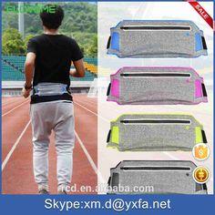 Zip Bag Hot Fanny Pack Festival Unisex Waist Belt Bum Soft Bag Case For IPhone 7 7 Plus For 6 Inches Mobile Phone FLOVEME