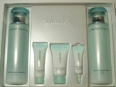 Korean Cosmetics_Laneige White Plus Renew 2pc Set #skincare #beauty         Laneige products are based on the long time study and research of water, the source of life and the most important element of healthy skin.      Laneige products pursue the artistic sense of snow crystals and complete the beauty of women in their 20s and 30s through the hydrating science of water, the final destination of snow.
