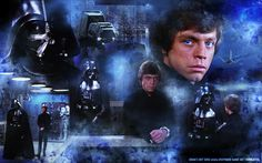 "Luke Skywalker & Darth Vader ""My Father is truly Dead"" http://erikasartzone.wordpress.com/"