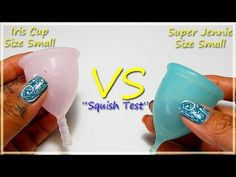 """Iris Cup vs Super Jennie SMALL """"Squish Test"""""""