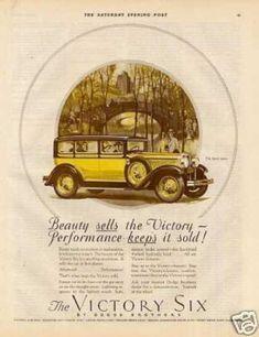 Dodge Brothers Victory Six Sport Sedan Color (1928)