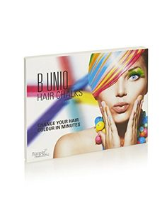 Be Unique - Hair Chalks, Great for Kids, Temporary Hair C…