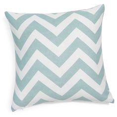 cotton cushion cover in blue 40 x 40cm | Maisons du Monde