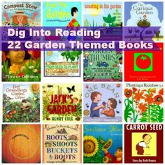 Here is a wonderful list of fiction and non-fiction books for children with a gardening theme. The library systems summer reading theme is Dig Into Reading. Why not dig into gardening books? Preschool Books, Activities For Kids, Spring Activities, Kindergarten Books, Reading Activities, Kid Essentials, Summer Reading Program, Book Suggestions, Book Recommendations