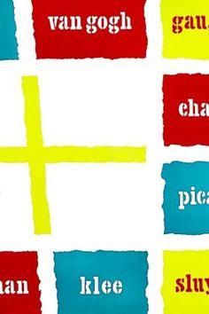 Stedelijk poster Van Gogh, Dutch, Posters, Graphic Design, Color, Dutch Language, Poster, Postres, Colour
