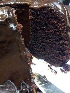 Jogurtowa babka czekoladowa z polewą czekoladową   Moje Wypieki