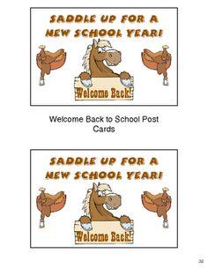 Western Cowboy Themed Classroom Mega Pack $