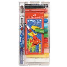 12-Color+Faber-Castell+Gel+Sticks+-+OrientalTrading.com