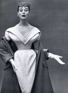 Christian Dior, Dinner Dress and Coat, 1953