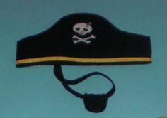 Nähanleitung: Hut und Augenklappe für Piratenkostüm | Kostenlose Nähanleitungen | kreative.stoffe.de