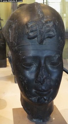 1st Pharaoh of Egypt/Kemet (Narmer)- flattened nose and ...