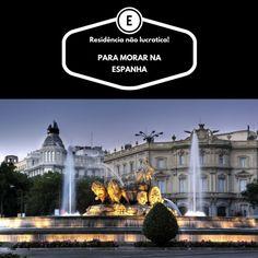 Você que tem o sonho de morar na Espanha por um período ou definitivamente. A residência não lucrativa é mais uma alternativa para morar legal no país europeu