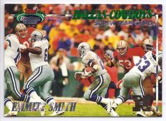 EMMITT SMITH 1993 TOPPS STADIUM CLUB  DALLAS COWBOYS SUPER TEAM SP REDEEMED RARE