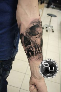 Tattoo-Foto: schädel nr 10000 Raphael Kieserling