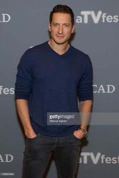 Actor Sasha Roiz attends the 'Grimm' event during SCAD aTVfest 2016 at the Four Seasons Atlanta Hotel on February 7, 2016 in Atlanta, Georgia.
