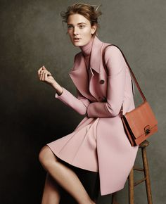 """""""It's a Mod, Mod World"""" Constance Jablonski in GUCCI Fall 2014 for W Magazine September 2014"""