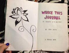 Wreck This Journal - Flower