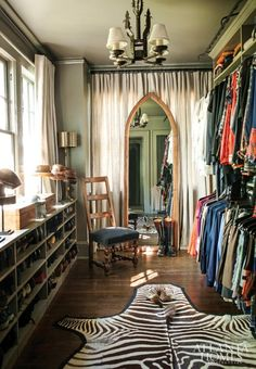 Dream Closet / via The Decadence Project. I love the look of this closet!