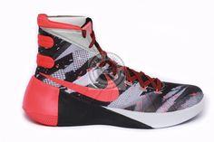 New Men's Nike Hyperdunk 2015 PRM Baskeball Shoes 749567 160 Black Red Size 12.5