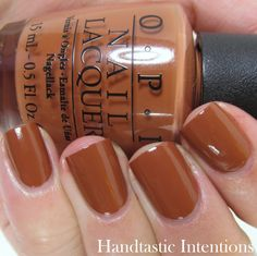 OPI A-Piers To Be Tan