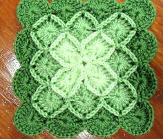 Pretty colors for Bavarian Crochet