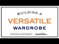 Tips for job seekers: Building a versatile wardrobe from @CareerBuilder
