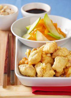 <p>Aromático y crujiente, el robozado con cítricos es una forma novedosa de presentar pescados en ocasiones especiales o como bocados delicados en una reunión. Acompañe el pescado con frutas maduras como duraznos o peras salteadas en mantequilla con nueces, o con láminas finas de frutas frescas como manzana o mango.</p>
