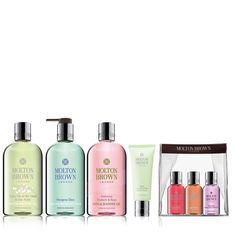 QVCUK TSV Offer From Molton Brown UK 14/03/17... 227594 Molton Brown 7 Piece Heavenly Bath and Body Collection - QVC Price: £47.00 £38.98 + P&P: £5.95  This seven-piece bath and body collection from Molton Brown includes gorgeously-scented products such as the best-selling Delicious Rhubarb & Rose Bath & Shower Gel and limited edition Pettigree Dew Hand Wash.