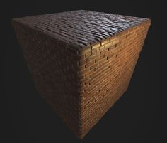ArtStation - First Substance Material, Simple Brick Wall, Martin Geupel