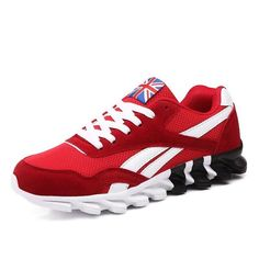 New casual shoes men sneaker trendy comfortable mesh fashion lace-up Adult men shoes Cheap Mens Shoes, Cheap Running Shoes, Cheap Sneakers, Summer Sneakers, Sneakers For Sale, Casual Sneakers, Casual Shoes, Lace Up Shoes, Men's Shoes
