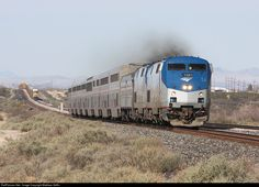 RailPictures.Net Photo: AMTK 170 Amtrak GE P42DC at Bowie, New Mexico by Matthew Griffin