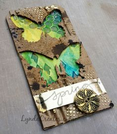 Tim Holtz - March 12 tags