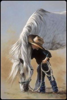 Horses and Cowboys ...