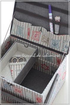 オリジナル作品・裁縫箱 : ichimière手づくりの時間